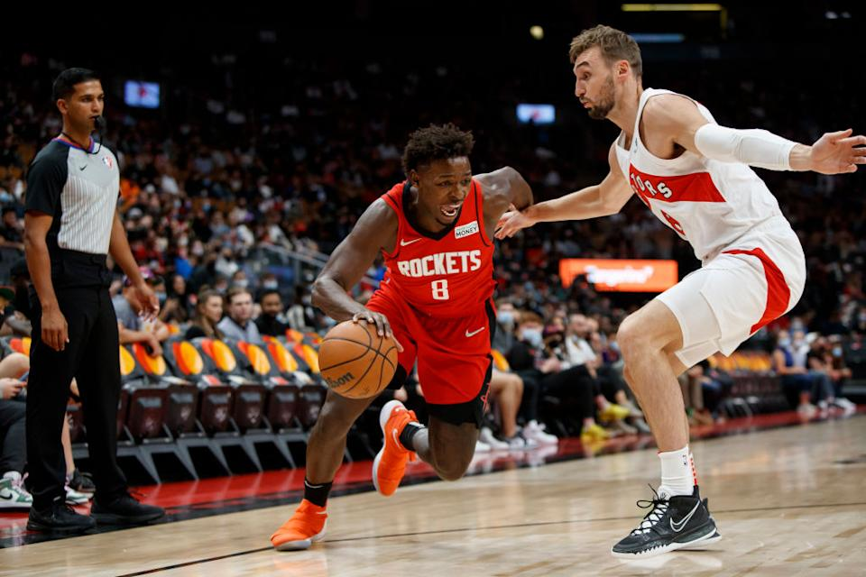 As camp winds down with their futures up in the air, Sam Dekker, Ishmail Wainright and Isaac Bonga have nothing but praise for this Raptors group. (Getty)