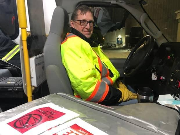 Chris Balla, the Beaufort Delta regional operations manager for Northwest Territories Health and Social Services Authority, is responsible for making sure vaccines and vaccinations teams make it to their final destinations.