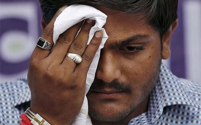 <p>Hardik Patel's former aide and currently BJP leader Reshma Patel has questioned the Patidar leader's authenticity when speculations about his meeting with Congress leader Rahul Gandhi are on a rise. </p>