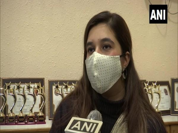 25-year-old Ayesha Aziz from Kashmir - the youngest female pilot in the country. (Photo/ANI)