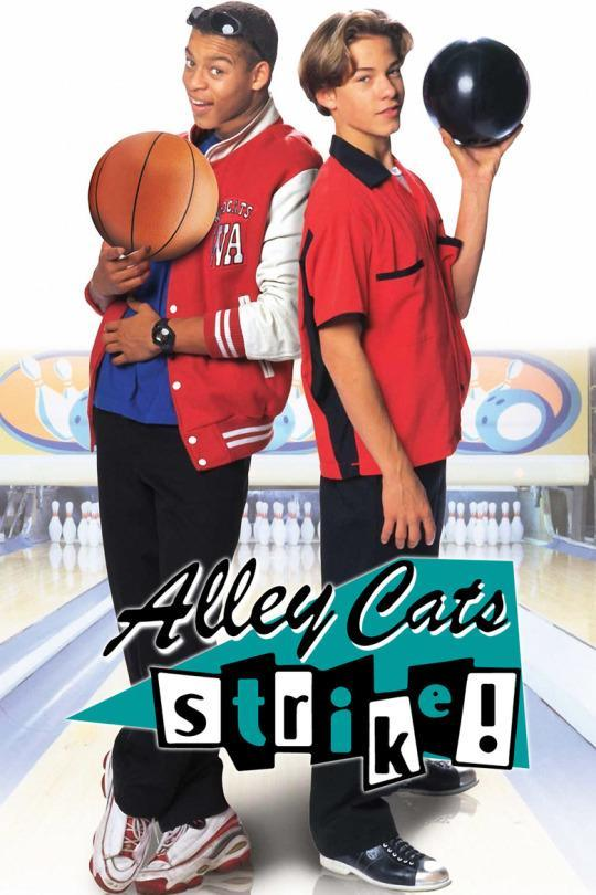 """<p>Kaley Cuoco (<i>The Big Bang Theory</i>) stars in this gritty urban drama about """"hip retro teenage outsiders"""" who become entangled in an underground bowling rivalry. This film is honestly not for the faint of heart.<br><br><i>(Credit: Disney Channel)</i> </p>"""
