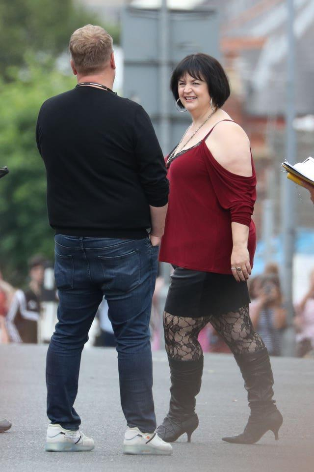 Gavin and Stacey Christmas special filming – Wales