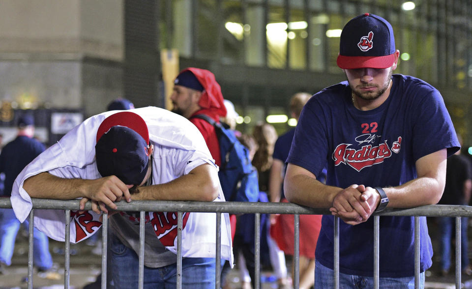 The Indians may trade away valuable players in the offseason. (AP)