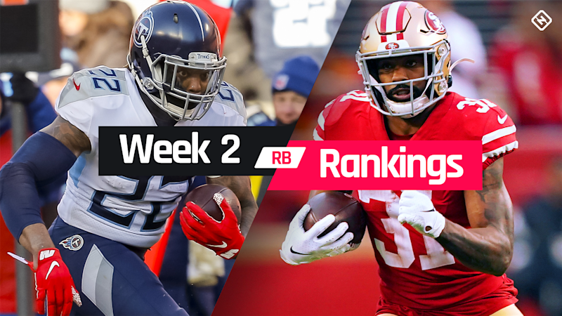 Week 2 Fantasy RB Rankings: Must starts, sleepers, potential busts at running back