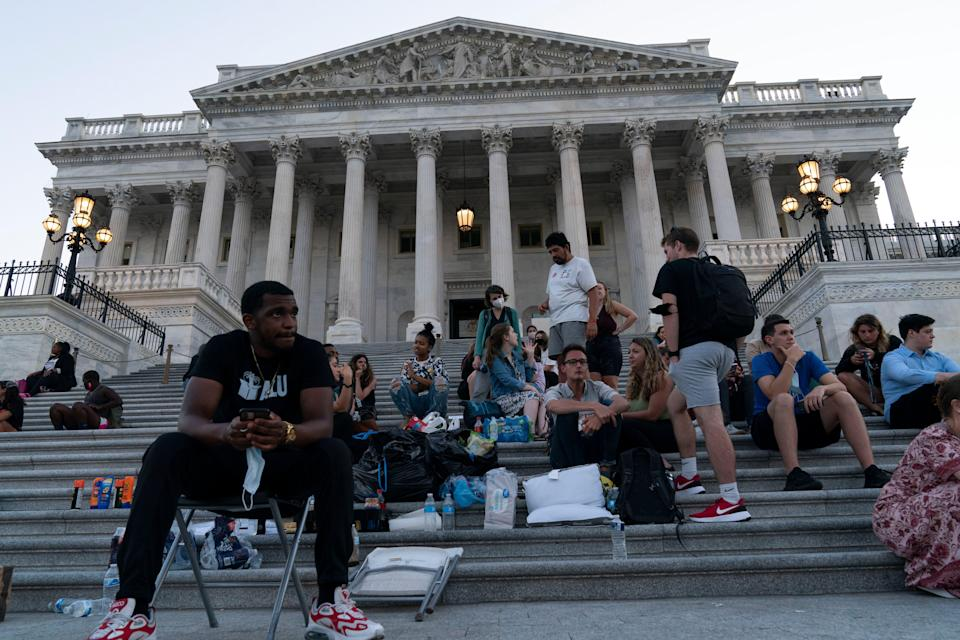 Congress Eviction Moratorium (Copyright 2021 The Associated Press. All rights reserved.)