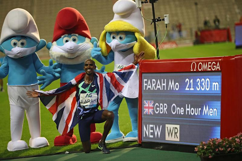 Farah has returned to the track this year but found his season decimated by the pandemic (AP)