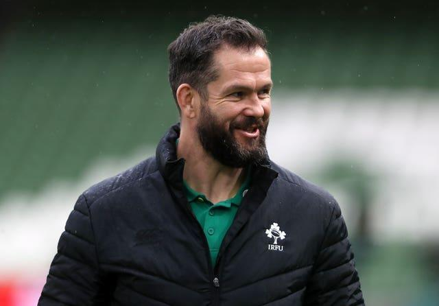 Ireland head coach Andy Farrell, pictured, is encouraging his players to be more vocal, according to Iain Henderson