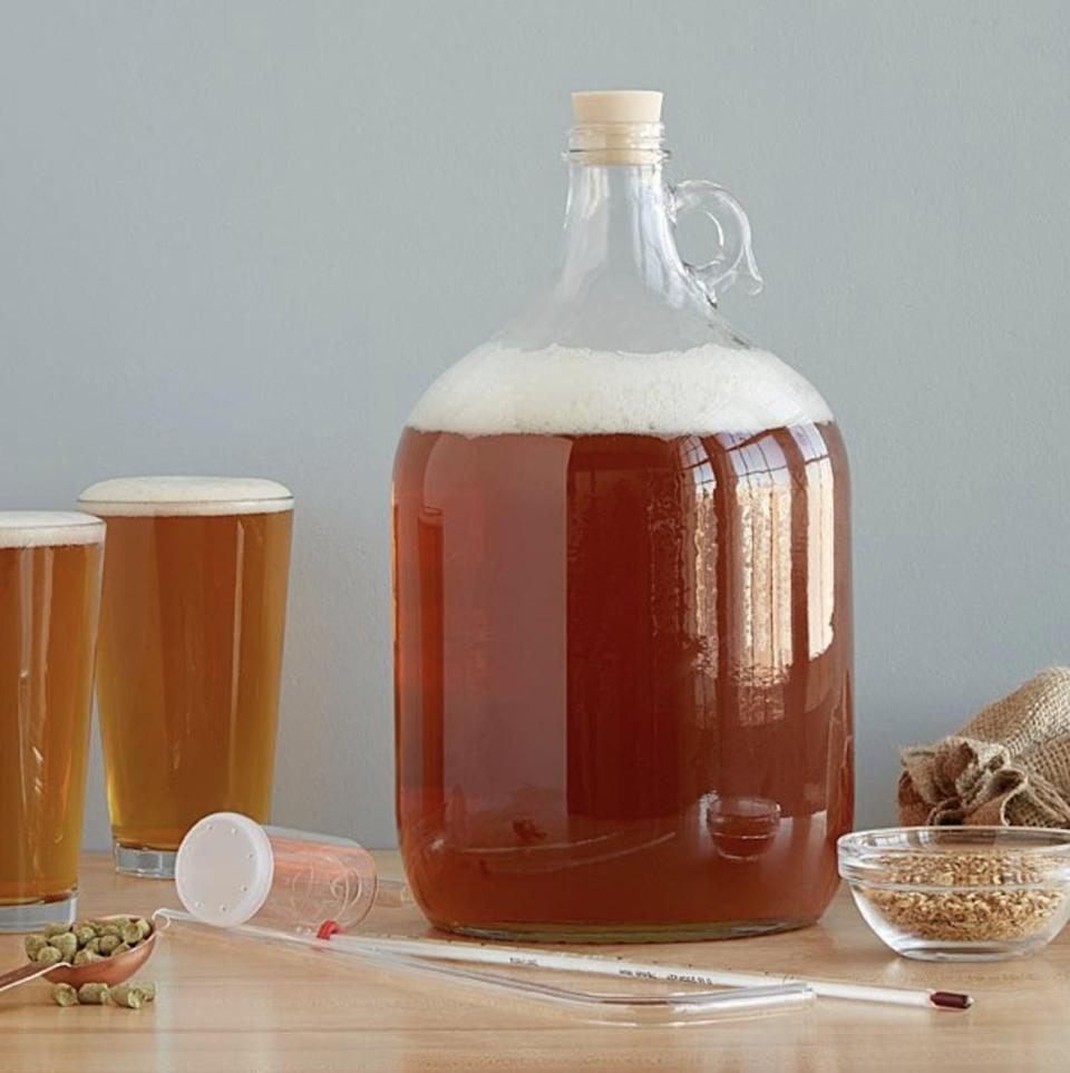 <p>Challenge them to make their favorite drink with this <span>West Coast Style IPA Beer Brewing Kit</span> ($20 - $45)</p> <p>, which has a complex spicy and xitrusy profile thanks to the hops sourced from the Yakima Valley.</p>