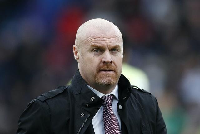 Sean Dyche's Burnley are yet to record a point in the Premier League this season (Martin Rickett/PA)