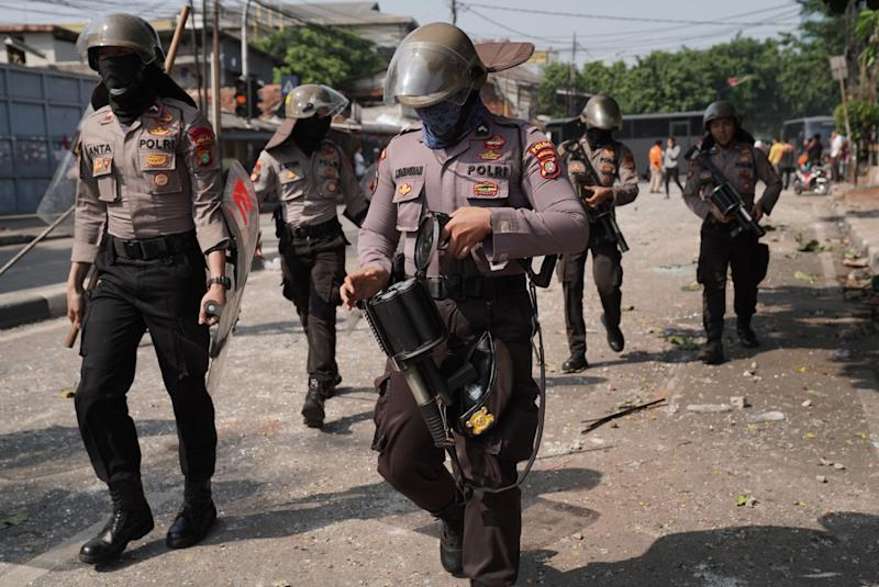 Protesters Killed as Indonesia Post-Election Rally Turns Violent