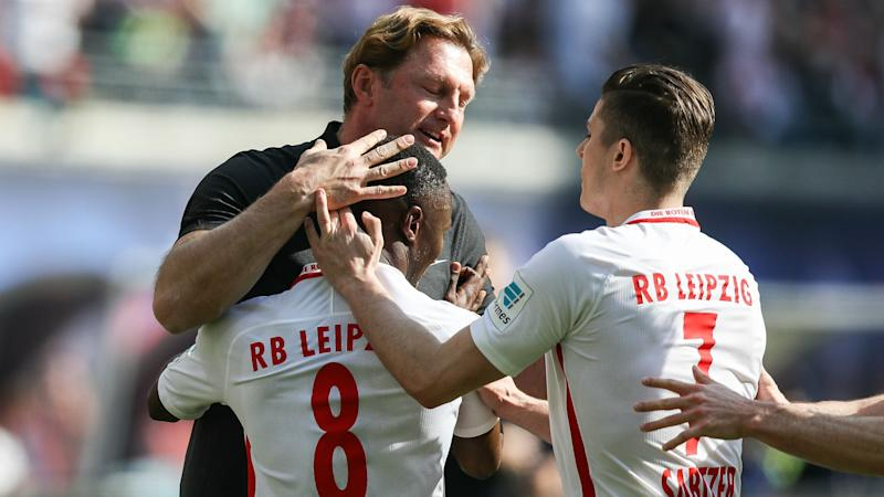 RB Leipzig 4 Darmstadt 0: Keita double boosts Champions League hopes