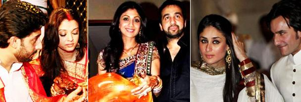 Karva Chauth Celebrations in Bollywood