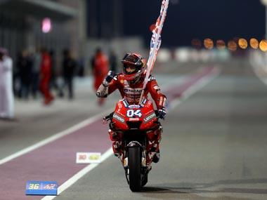 Qatar MotoGP 2019: History repeats itself as Ducati's Andrea Dovizioso holds off Marc Marquez to claim victory by 0.027 seconds
