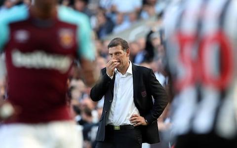 Bilic will spend his birthday looking for West Ham's first points of the seasonCredit: REUTERS