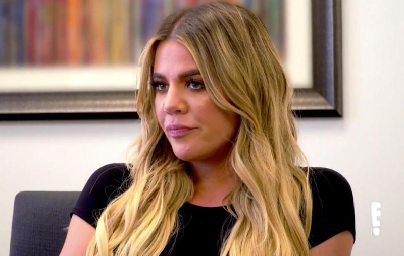 Khloe had a visit to a fertility doctor. Source: E! Entertainment