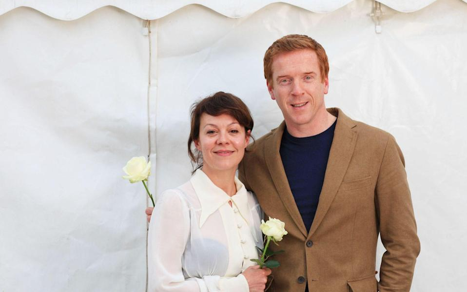 Damian Lewis and his wife Helen McCrory  - Clara Molden