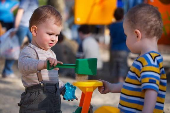 """Babies show signs that they know right from wrong, and when asked, they prefer a """"helper"""" over a """"hinderer."""" Even so, new research suggests other factors may be responsible for babies' seeming morality."""