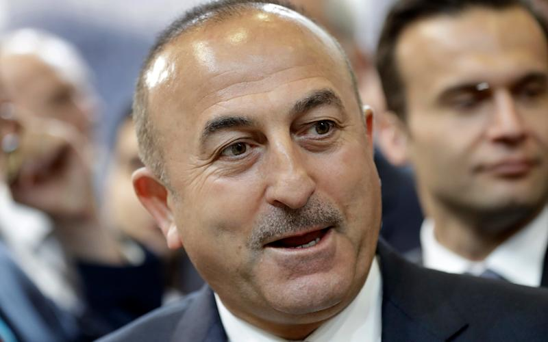 Mevlut Cavusoglu, Turkey's foreign minister, was barred from entering Holland - Credit:  (AP Photo/Michael Sohn, File)