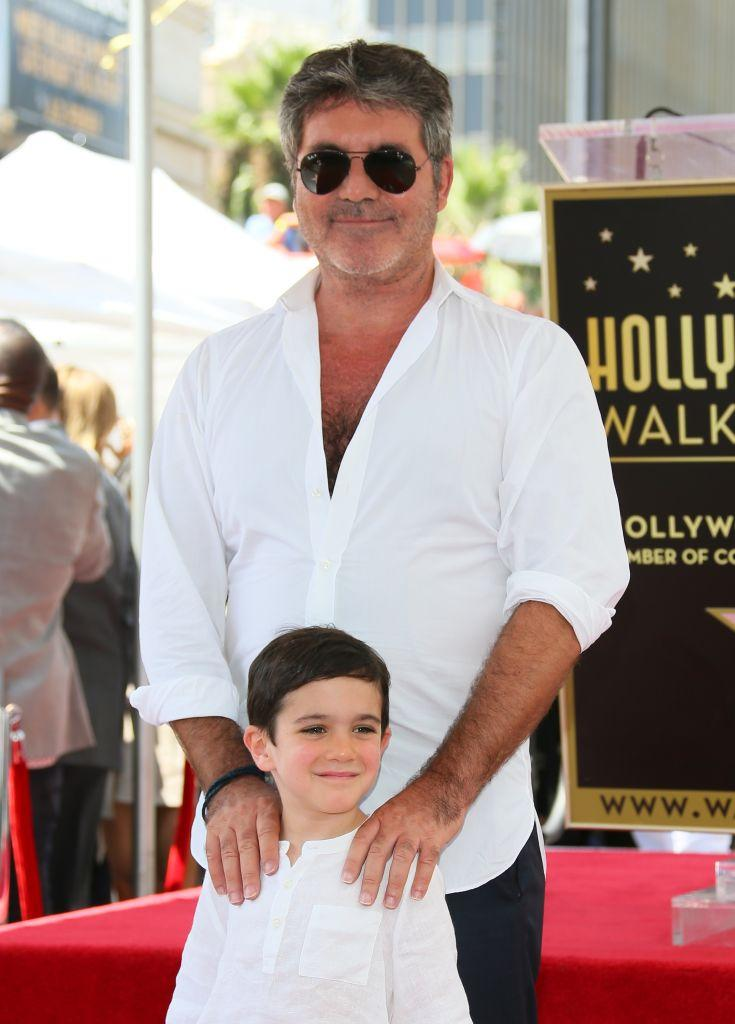 Simon Cowell was late to the parenting party [Photo: Getty]
