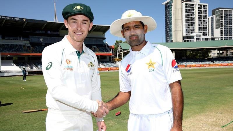 Captain Jake Doran (L) is one of five CA XI players with first-class experience facing Pakistan