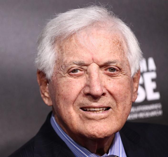 """Monty Hall, who hosted """"Let's Make a Deal"""" for almost three decades, died on Sept. 30, 2017 at 96."""