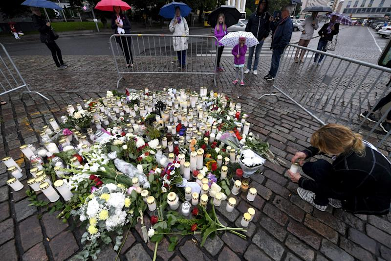 Finland stabbings 'a likely terror act;' Ties to Spain eyed