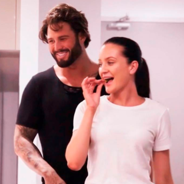 Who could forget when Sam and Ines caused controversy when they were caught cheating on Married At First Sight. Photo: Channel Nine