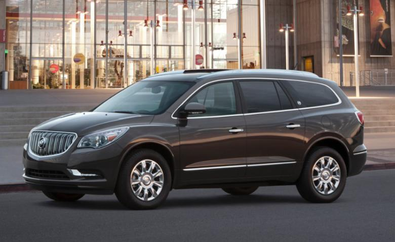 2014 Enclave: SUV is most popular Buick