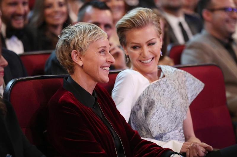 Portia De Rossi is married to talk show host Ellen DeGeneres (Getty Images for People's Choice Awards)