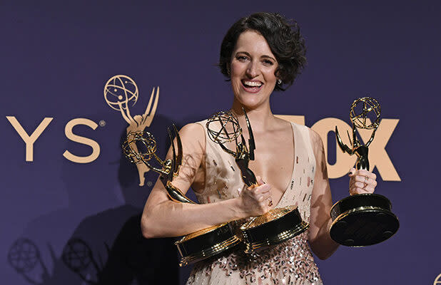 Phoebe Waller-Bridge Brings All 3 of Her Emmys to 'SNL' in New Promo (Video)
