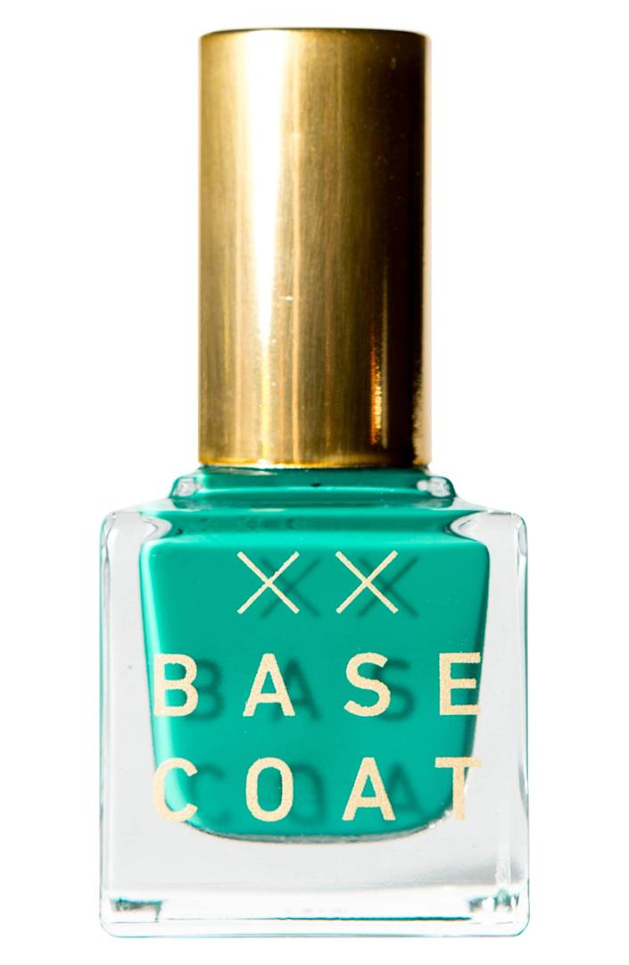 <p>This <span>Base Coat Nail Polish in Pisces</span> ($18) is a pretty color.</p>