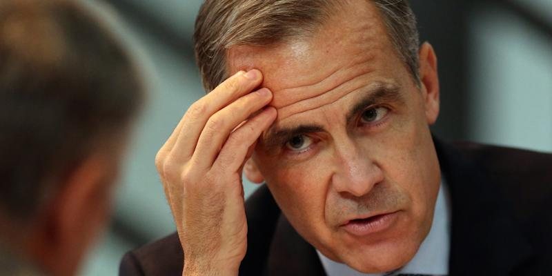 Bank of England Governor Mark Carney speaks at the Future Forum in Birmingham Town Hall, in Britain, October 14, 2016.