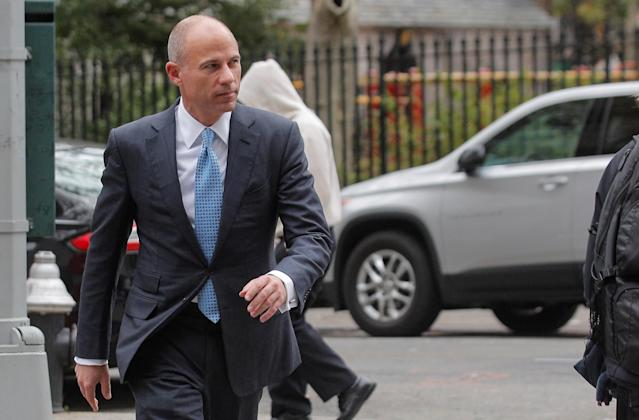 Attorney Michael Avenatti arrives at the United States Courthouse in the Manhattan borough of New York City, U.S., on Oct. 8, 2019. (Reuters)