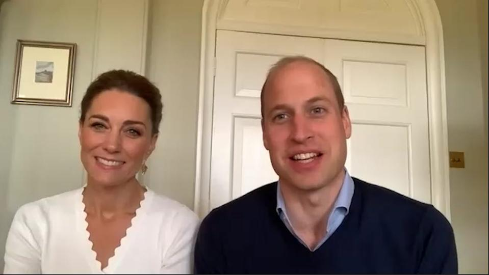prince william kate middleton zoom call