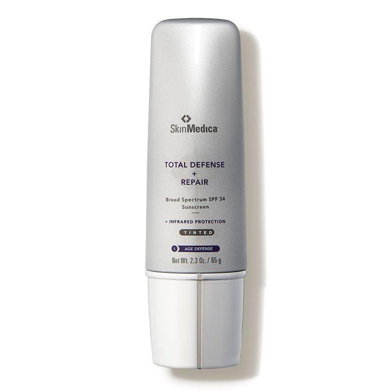 """<p><strong>SkinMedica</strong></p><p>amazon.com</p><p><strong>$68.00</strong></p><p><a href=""""http://www.amazon.com/dp/B00ZVFKZ5O/?tag=syn-yahoo-20&ascsubtag=%5Bartid%7C2141.g.26902204%5Bsrc%7Cyahoo-us"""" rel=""""nofollow noopener"""" target=""""_blank"""" data-ylk=""""slk:SHOP NOW"""" class=""""link rapid-noclick-resp"""">SHOP NOW</a></p><p>The best thing you can do to slow down the signs of aging? Slather on the SPF. This tinted sunscreen from SkinMedica is a safe bet, because it <strong>prevents sun damage while repairing any damage that's already been done</strong>. Ingredients like niacinamide (a form of vitamin B3 that targets discoloration), hydrating shea butter, and vitamins C and E work together to improve the appearance of fine lines and wrinkles while nourishing the skin.<br></p>"""