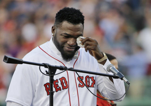David Ortiz thinks the Yankees are the team to beat in the AL East. (AP Photo)