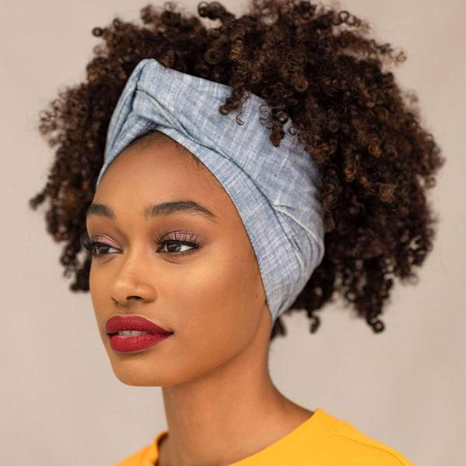 "<p>Headwraps are a good go-to when you're too lazy to do your hair or when your braid-out isn't fully dried. Nnenna Stella launched her accessories label The Wrap Life in 2014. The brand's most recent collections feature subdued prints, like the black and white striped <a href=""https://thewrap.life/products/teshie"" rel=""nofollow noopener"" target=""_blank"" data-ylk=""slk:Teshie"" class=""link rapid-noclick-resp"">Teshie</a> headwrap, and solid-color options. </p> <p><a href=""https://thewrap.life/"" rel=""nofollow noopener"" target=""_blank"" data-ylk=""slk:Shop Now"" class=""link rapid-noclick-resp""><strong>Shop Now</strong></a></p>"