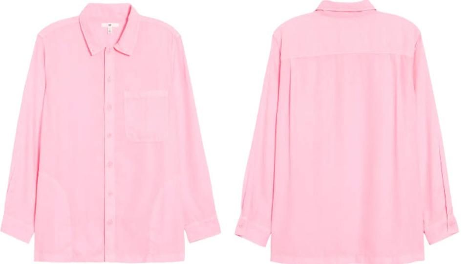 Be Proud by BP. Gender Inclusive Button-Up Shirt - Nordstrom. $20 (originally $59)