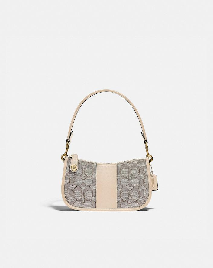 <p>The <span>Coach Swinger Bag 20 in Signature Jacquard</span> ($195) is the perfect summer shoulder bag.</p>