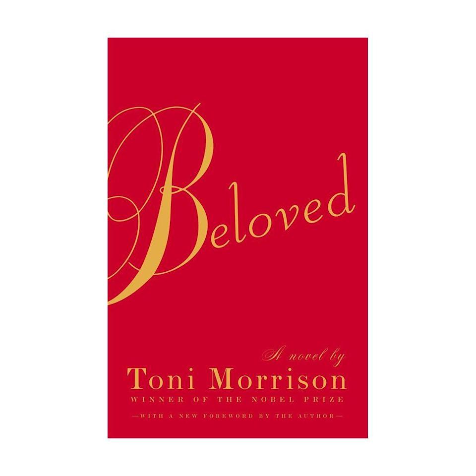 """<p><strong>$12.53</strong> <a class=""""link rapid-noclick-resp"""" href=""""https://www.amazon.com/Beloved-Toni-Morrison/dp/1400033411?tag=syn-yahoo-20&ascsubtag=%5Bartid%7C10054.g.35036418%5Bsrc%7Cyahoo-us"""" rel=""""nofollow noopener"""" target=""""_blank"""" data-ylk=""""slk:BUY NOW"""">BUY NOW</a></p><p><strong>Genre:</strong> Fiction<br></p><p>Winner of both the 1988 Pulitzer Prize for Fiction and the American Book Award, <em>Beloved</em> tells the story of Sethe, an African American former slave who has successfully escaped and fled north to Ohio. Eighteen years later, she is still haunted by the ghost of her deceased, nameless baby who rests under a tombstone marked, """"Beloved."""" </p>"""
