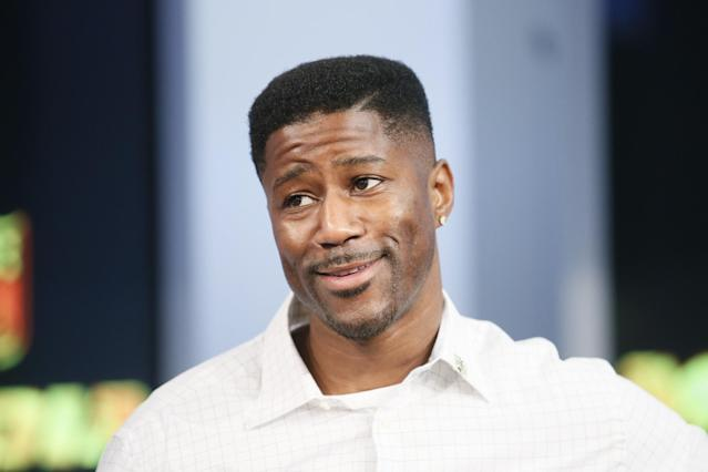 Nate Burleson will be one of the new studio analysts for CBS's pregame show. (AP)