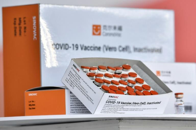 Singapore received its first shipment of the Beijing-based pharmaceutical's CoronaVac vaccine in February, with some 200,000 doses delivered. (PHOTO: Reuters)