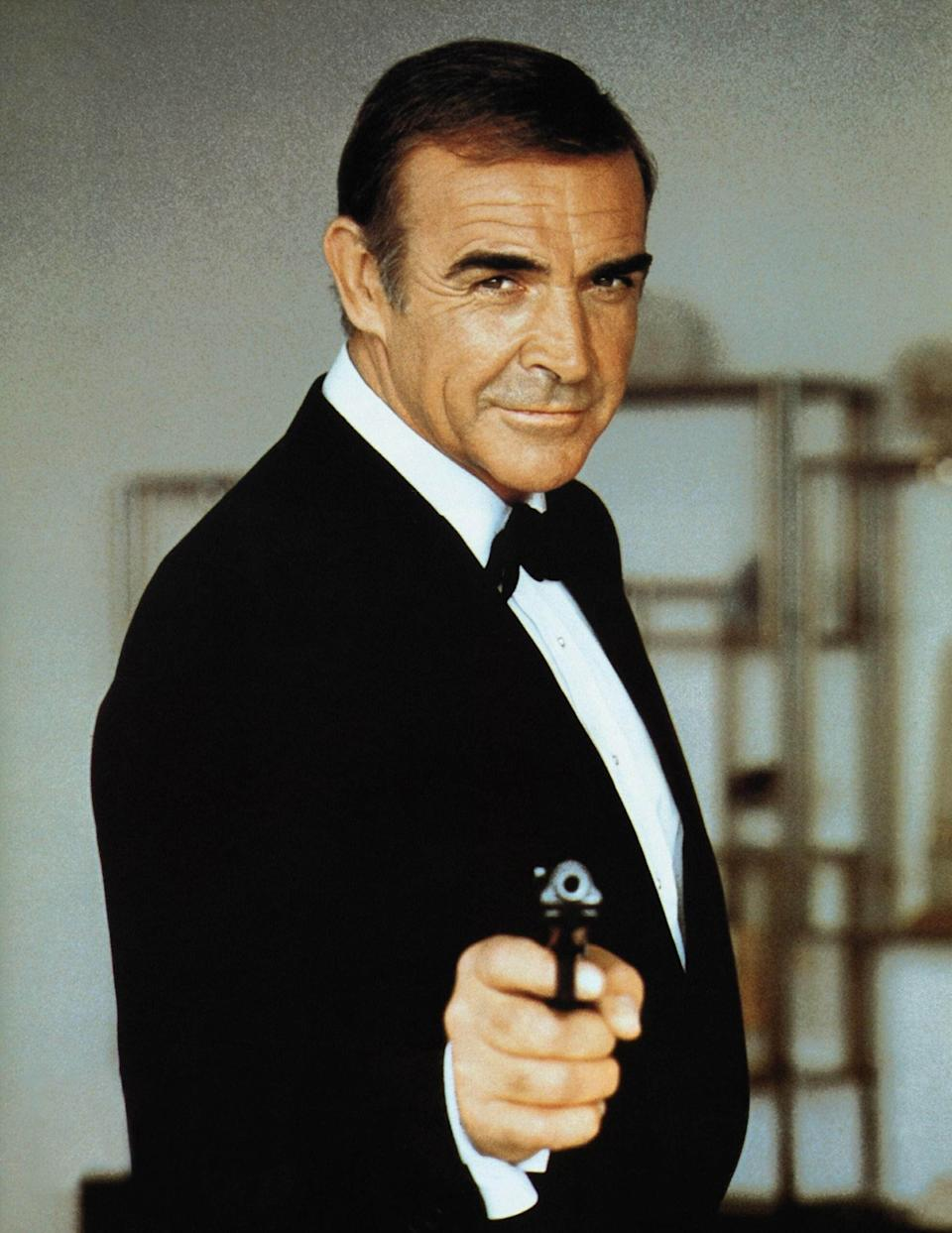 Sean Connery was the first actor to bring James Bond to the big screen. (Photo: Rex)