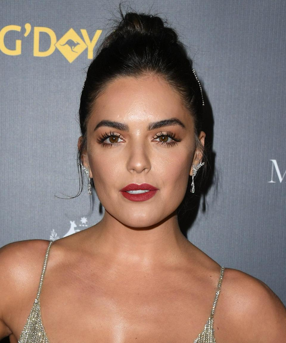 """<p>In December 2018, Luke sparked relationship rumors with Australian actress Olympia Valance after <a href=""""http://www.dailymail.co.uk/tvshowbiz/article-6507965/Olympia-Valance-Luke-Bracey-spark-romance-rumours.html"""" class=""""link rapid-noclick-resp"""" rel=""""nofollow noopener"""" target=""""_blank"""" data-ylk=""""slk:she shared a steamy pic of him in a towel"""">she shared a steamy pic of him in a towel</a> on her Instagram Story with the caption, """"What's not to love?"""" Not long after, the two were spotted looking cozy at the Australian Open, and in February 2019, <a href=""""http://www.dailymail.co.uk/tvshowbiz/article-6702001/Olympia-Valance-confirms-romance-actor-Luke-Bracey.html"""" class=""""link rapid-noclick-resp"""" rel=""""nofollow noopener"""" target=""""_blank"""" data-ylk=""""slk:Olympia confirmed their romance"""">Olympia confirmed their romance</a>. """"He's very supportive. I'm very happy,"""" Olympia told <strong>WHO</strong>. It's unclear when the couple split, but by the summer of 2019, <a href=""""http://www.dailymail.co.uk/tvshowbiz/article-8792865/Olympia-Valance-announces-engagement-AFL-star-boyfriend-Thomas-Bellchambers.html"""" class=""""link rapid-noclick-resp"""" rel=""""nofollow noopener"""" target=""""_blank"""" data-ylk=""""slk:Olympia was boo'd up with AFL star Thomas Bellchambers"""">Olympia was boo'd up with AFL star Thomas Bellchambers</a>, to whom she's now engaged. </p>"""