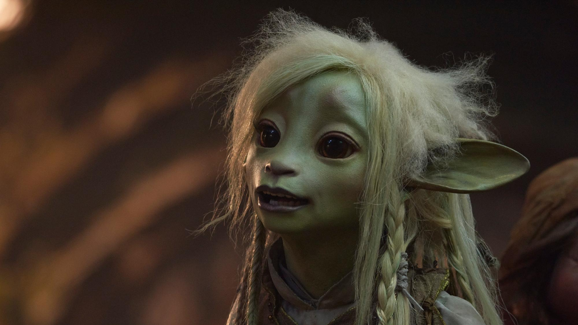 Nathalie Emmanuel voices the Gelfling animal carer Deet in Netflix series 'The Dark Crystal: Age of Resistance'. (Credit: Kevin Baker/Netflix)