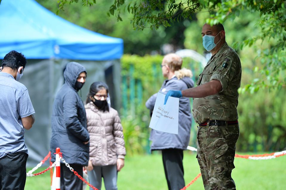 A new Covid Testing Site has been set up in Spinney Hill Park in East Leicester due to a recent spike in Covid cases in the area