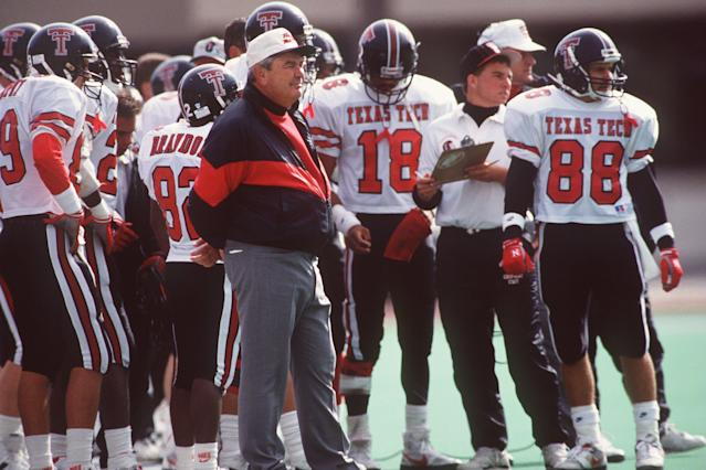 <p>Spike Dykes (1938-2017): Legendary college football coach at Texas Tech. </p>
