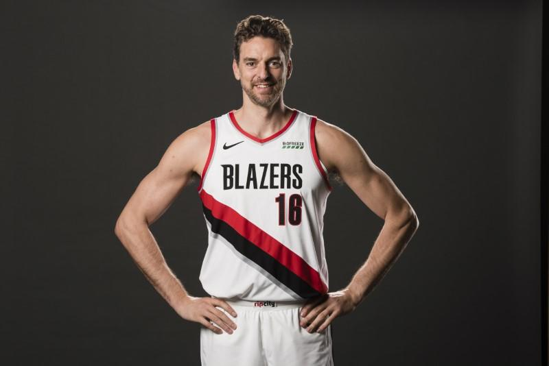 NBA Trail Blazers waive veteran Pau Gasol