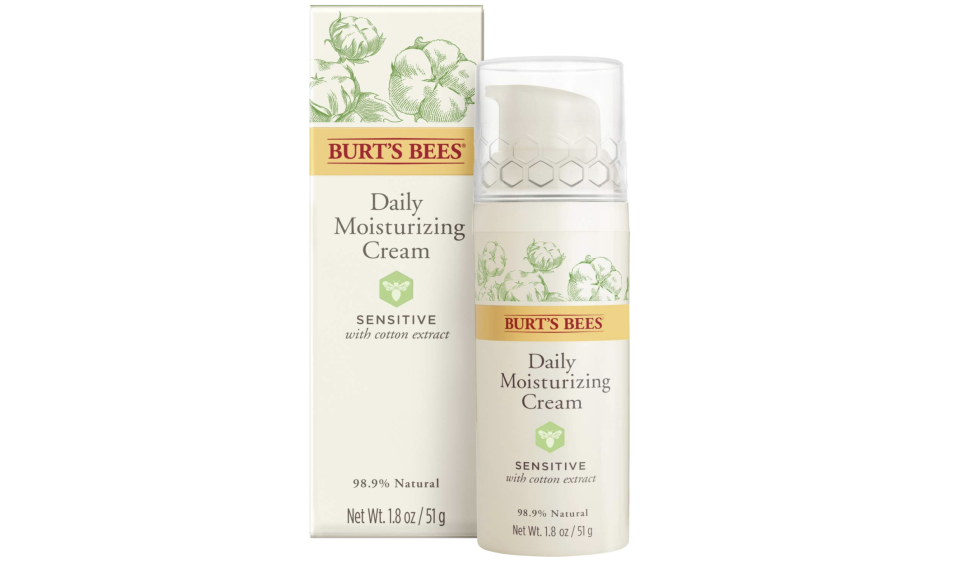 Burt's Bees Daily Face Moisturizer Cream for Sensitive Skin. Foto: aamzon.com