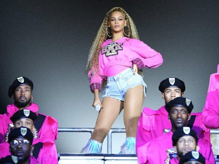 """Beyoncé wrote, directed, and executive-produced """"Homecoming: A Film by Beyoncé."""""""